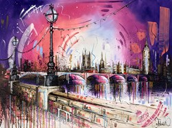 Life in Colour by Samantha Ellis -  sized 40x30 inches. Available from Whitewall Galleries